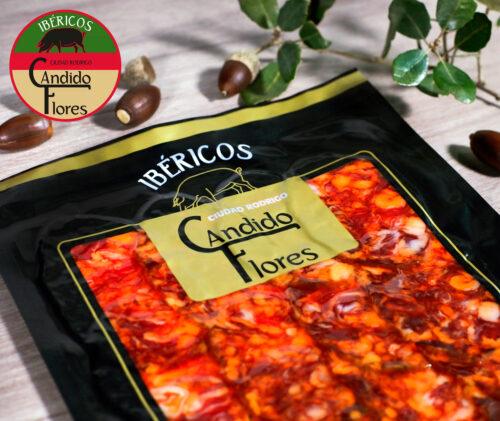 Chorizo ibérico de bellota loncheado de Salamanca - Ciudad Rodrigo