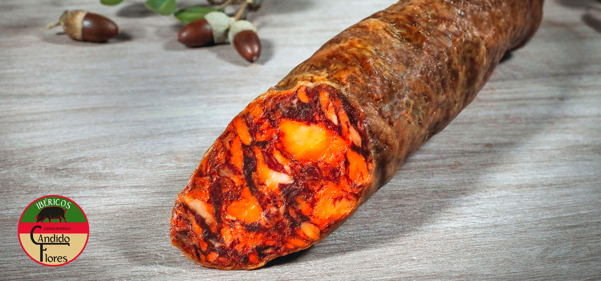 Chorizo ibérico de bellota de Salamanca - Ciudad Rodrigo