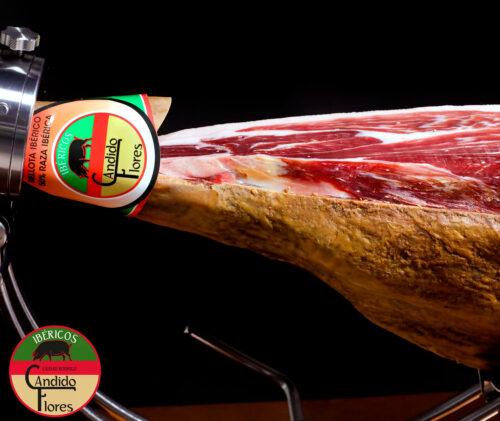 Jamón ibérico de bellota 50% raza ibérica de Salamanca - Ciudad Rodrigo