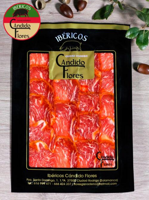 Lomo de bellota 50% raza ibérica loncheado de Salamanca - Ciudad Rodrigo