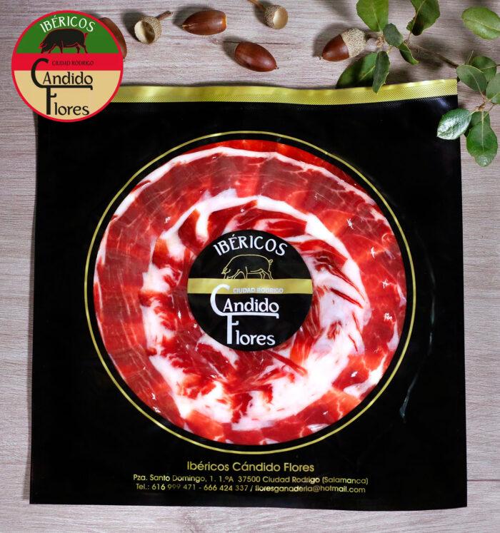 Jamón ibérico de bellota 50% raza ibérica loncheado de Salamanca - Ciudad Rodrigo